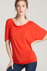 Michael Stars Tee Highlow Pocket - Lyst