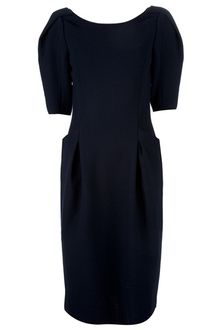 Nina Ricci Wool Dress - Lyst
