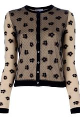 RED Valentino Lace Cardigan