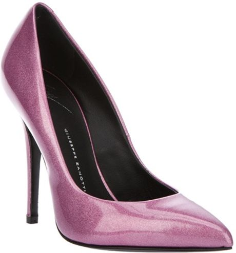Giuseppe Zanotti Leather Pump in Pink (rose) - Lyst