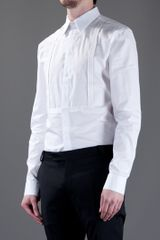 Givenchy Strap Detail Shirt in White for Men - Lyst