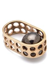 Kelly Wearstler Hooded Ball Ring - Lyst