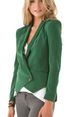 Rebecca Minkoff Becky Jacket in Green (forest) - Lyst