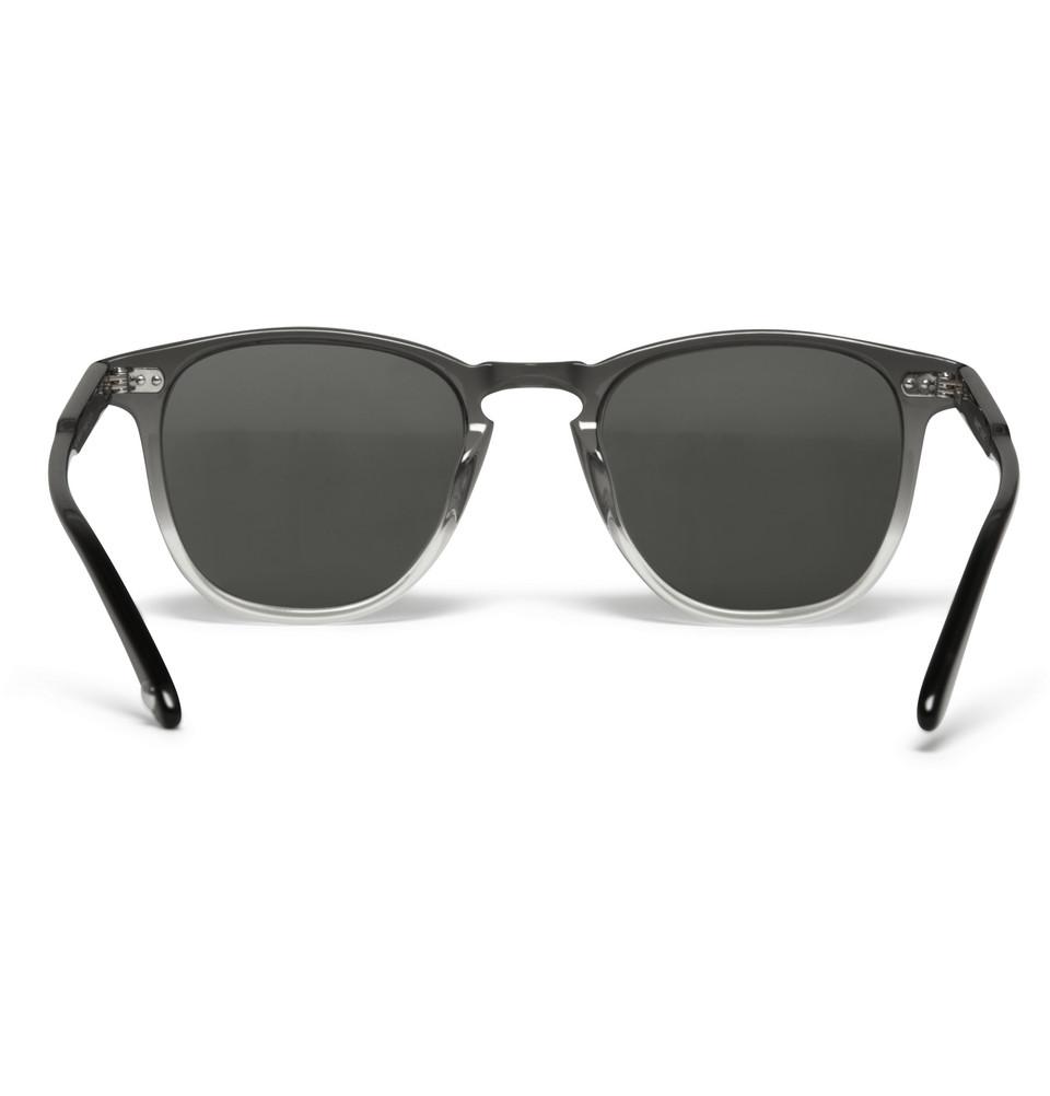 Garrett Leight Dframe Twotone Acetate Sunglasses in Gray ...