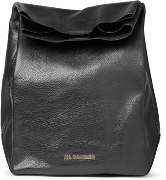 Jil Sander Leather Bag - Lyst