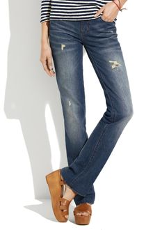 Madewell Bootlegger Jeans in Rubble Wash - Lyst