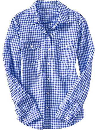 Old Navy Lightweight Camp Shirts - Lyst