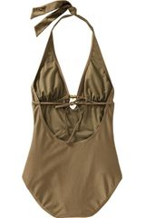 Old Navy Halterkeyhole Swimsuits - Lyst