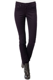 Rag & Bone Devi Wine Twill Leggings - Lyst