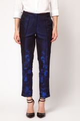 Asos Collection  Premium Trousers in Ombre Print in Blue (brightblue) - Lyst