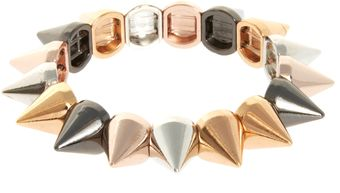 Asos Spike Stretch Bracelet - Lyst