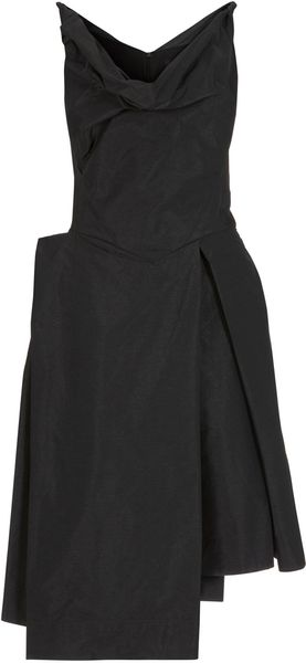 Black Boeing Taffeta Dress - Lyst