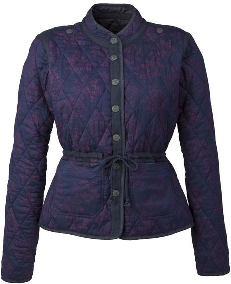 Henri Lloyd Leila Quilted Jacket in Blue (darkwash) - Lyst