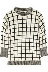 Kenzo Oversized Window check Sweater