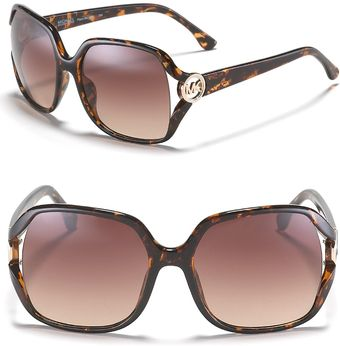 Michael Kors Pippa Oversized Square Sunglasses - Lyst