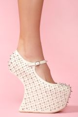 Nasty Gal Prickley Platform - Lyst