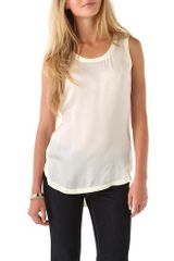 Rachel Zoe Josie Button Closure Top - Lyst