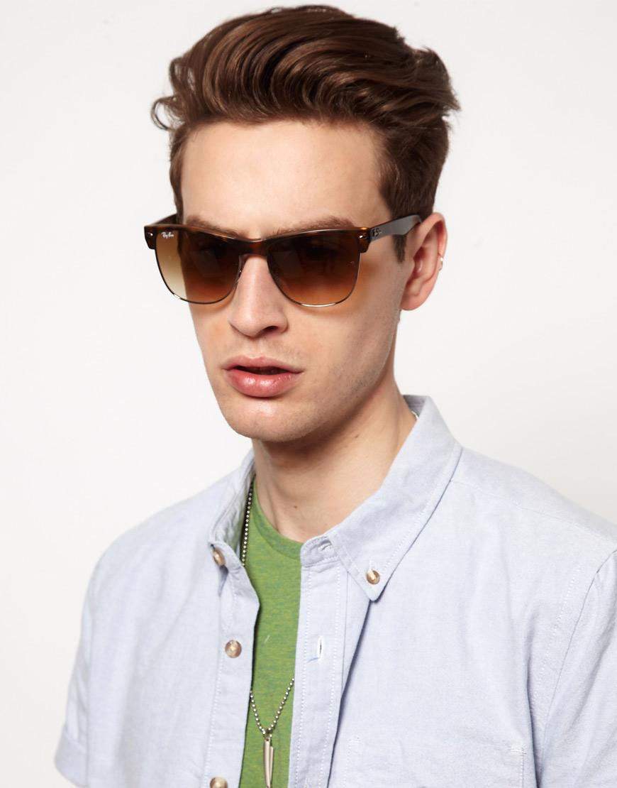Men S Clubmaster Sunglasses  ray ban mens square sunglasses