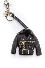 See By Chloé Rock Keychain in Black - Lyst