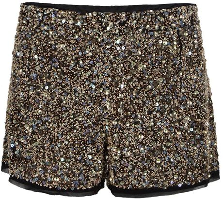 Allsaints Elissa Shorts in Black (blk ice) - Lyst