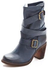 Jeffrey Campbell France Booties in Blue (navy) - Lyst