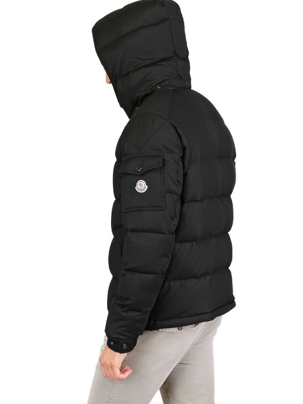moncler black mens jacket