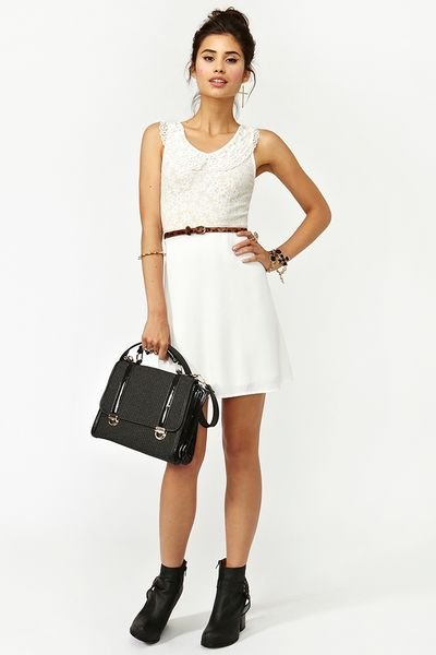 Nasty Gal Daisy Dream Dress In White Lyst