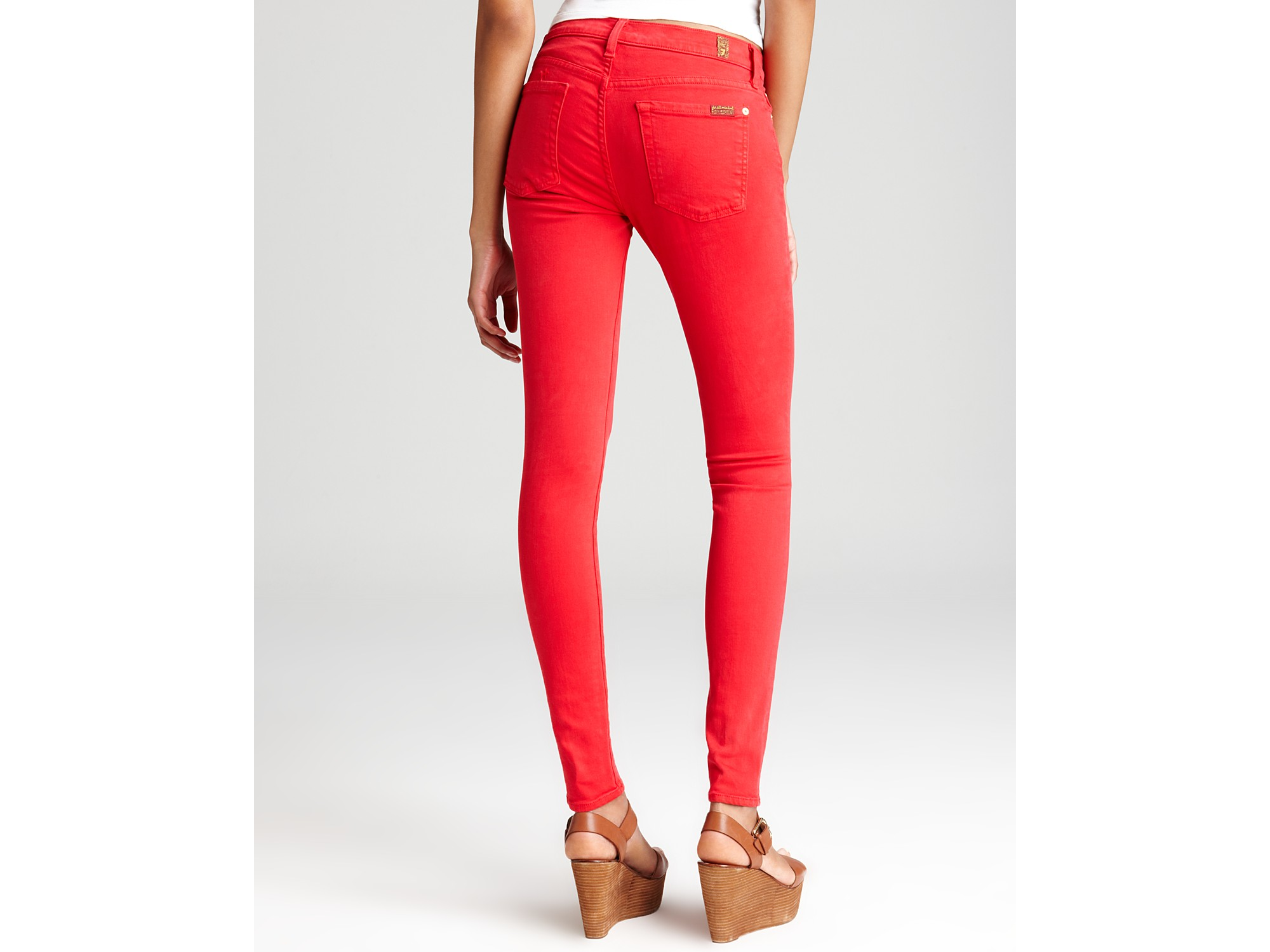 7 for all mankind Chino - red xTkXK2dC