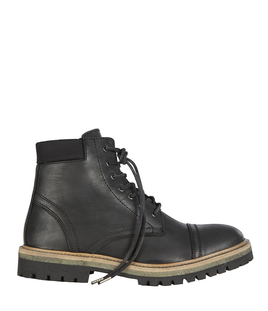 Lyst Allsaints Detect Boot In Black For Men