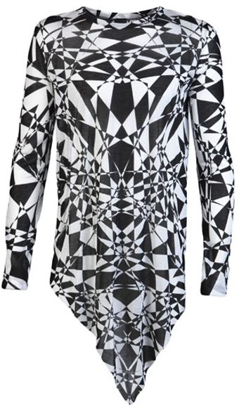 Gareth Pugh Triangle Top - Lyst