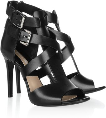Michael Kors Leather Sandals - Lyst
