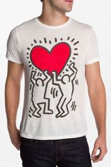 Obey Limited Series Red Heart Tshirt - Lyst