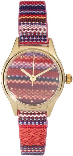 River Island Aztec Strap Watch - Lyst