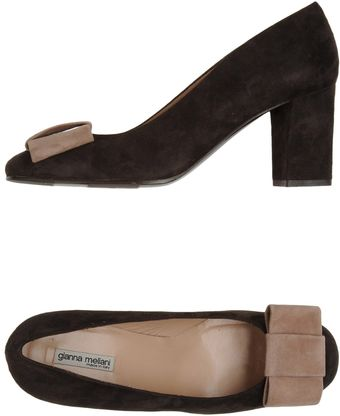 Gianna Meliani Closedtoe Slipons - Lyst