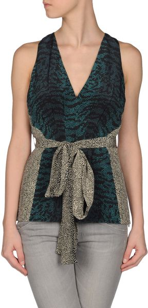 Gucci Top in Green (blue) - Lyst