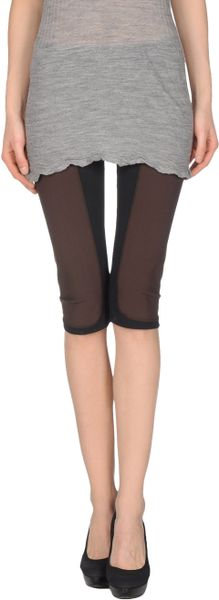 Miu Miu Leggings in Brown (black) - Lyst