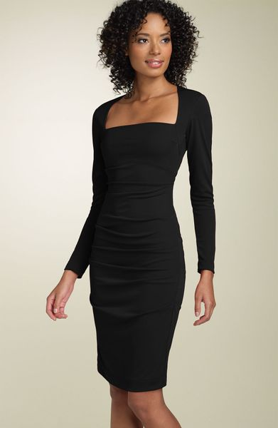 Galerry sheath dress long sleeve