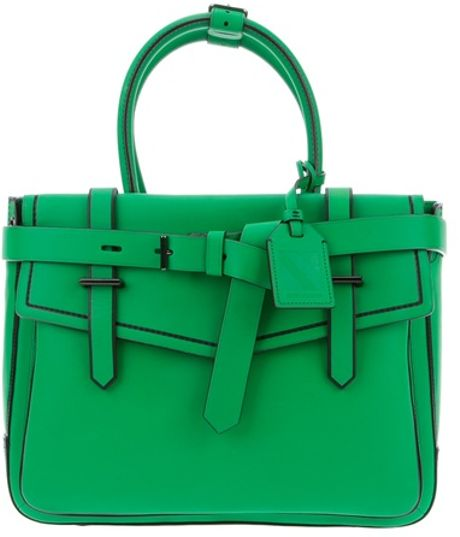 Reed Krakoff Leather Bag in Green - Lyst
