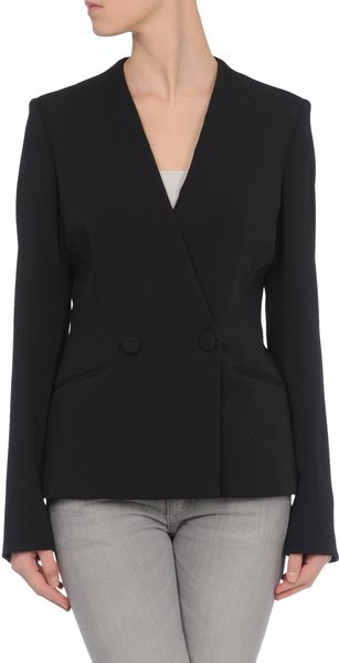 Stella Mccartney Blazer in Black - Lyst