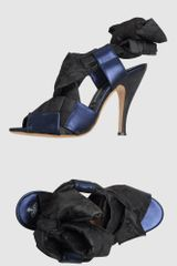 Vivienne Westwood High Heeled Sandals in Black (steel) - Lyst