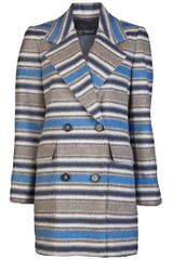Yigal Azrouel Stripe Wool Jacket - Lyst