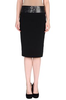 Ralph Lauren Black Label 34 Length Skirt - Lyst