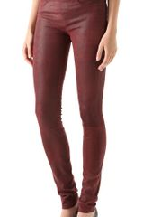 Helmut Lang Cheyenne Leather Leggings - Lyst
