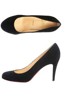 Christian Louboutin Ron Ron 85mm Suede Pumps - Lyst