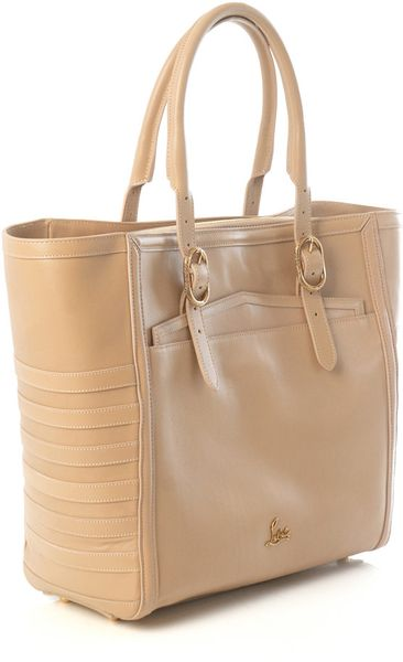 Christian Louboutin Farida Shopper Bag in Beige (nude) - Lyst