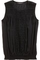 Isabel Marant Dakota Top in Black - Lyst