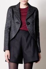 Marc Jacobs Glitter Wool Jacket - Lyst