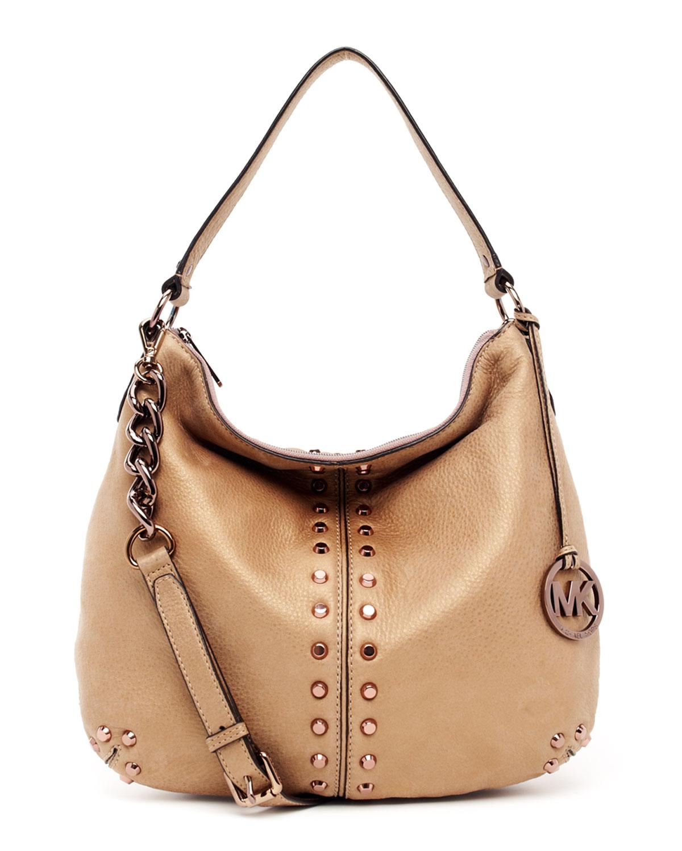 923b6a5d0da1f7 Michael Kors Uptown Astor Large Shoulder Bag in Natural - Lyst