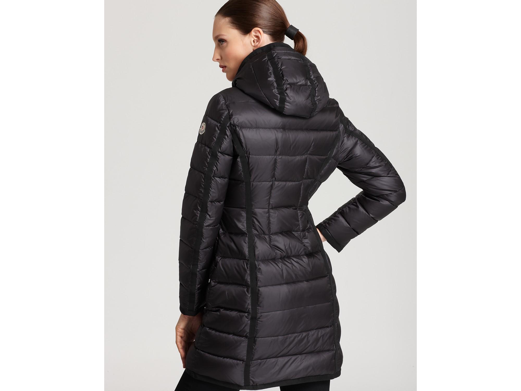 8d50b2253 new zealand moncler hermine grosgrain trim down coat for sale 49bbd ...