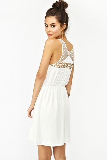 Nasty Gal Geo Crochet Dress - Lyst